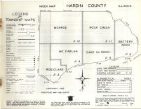 Index Map, Hardin County 1962